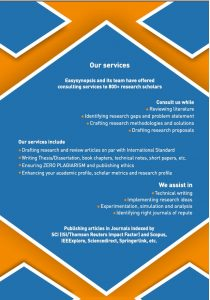 easysynopsis our services